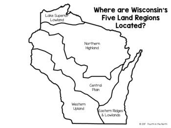 Wisconsin Land Regions Fact Book
