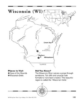 Wisconsin (Map & Facts)