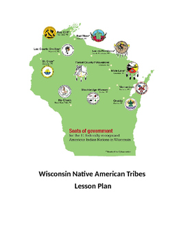 Wisconsin Native American Tribes Lesson Plan