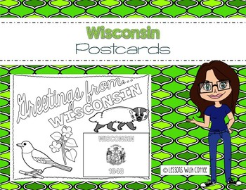 Wisconsin Postcard - Classroom Postcard Exchange