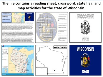 Wisconsin - State Activity Set