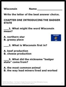 Wisconsin From Sea to Shining Sea