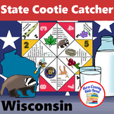 Wisconsin State Facts and Symbols Cootie Catcher Distance