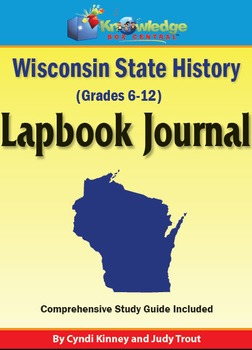 Wisconsin State History Lapbook Journal