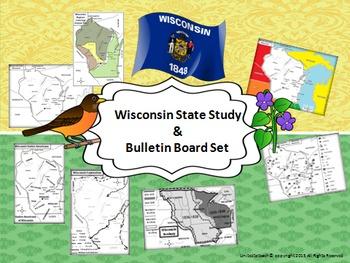 Wisconsin State Study & Bulletin Board Set