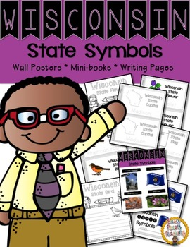 Wisconsin State Symbols Notebook