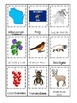 Wisconsin State Symbols themed 3 Part Matching Preschool Literacy Card Game.