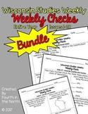 Wisconsin Studies Weekly Entire Year Weekly Comprehension Checks