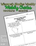 Wisconsin Studies Weekly Third Quarter Weekly Comprehensio