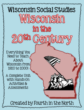 Wisconsin in the 20th Century Study Unit