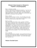 Wisdom Book: Imitation of Benjamin Franklin's Autobiography