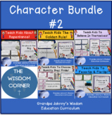 God's Values In Bundle #2 -  5 different titles with no-prep lesson plans!