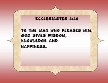 Wisdom Scripture Posters