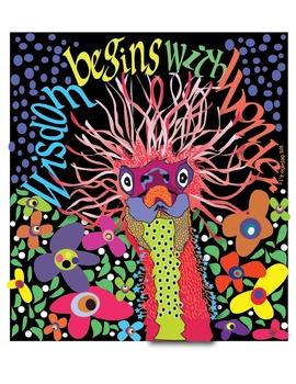 Wisdom Begins with Wonder Poster