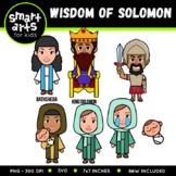 Wisdom of Solomon Clip Art
