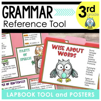 Wise About Words Grammar Lap Book Tool