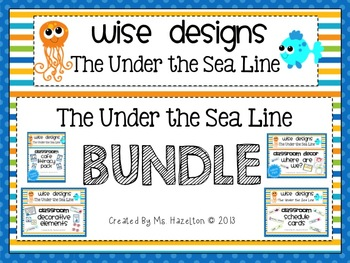 [Wise Designs] The Under the Sea Classroom Design Bundle