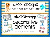 [Wise Designs] Under the Sea Classroom Decorative Elements Pack