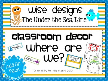 [Wise Designs] Under the Sea Where Are We? Add-On Pack