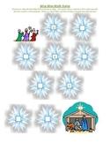 Wise Men Math Preschool Activity for Christmas