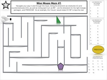 Wise Mouse Maze #1