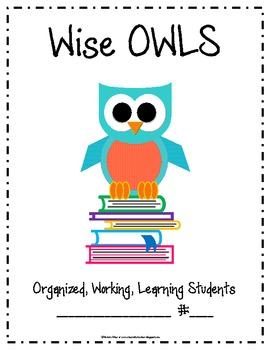 Wise OWLS Folder covers (full page)