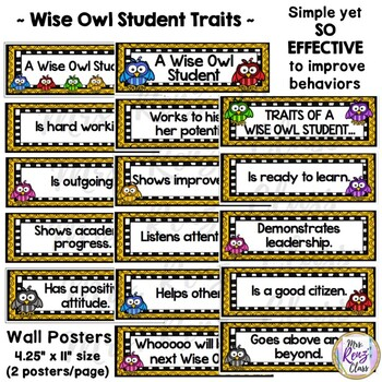 Student of the Month - Wise Owl - A Student of the Month Recognition Program