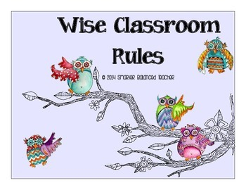 Wise Owl Classroom Rules