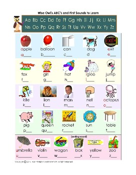 Wise Owl's First Phonics and First 100 Sight Words Extra Practice