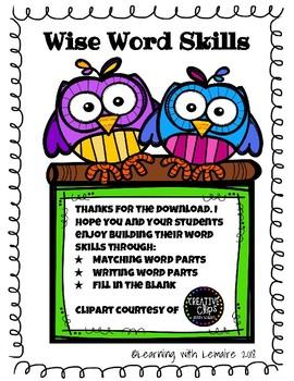 Wise Word Skills