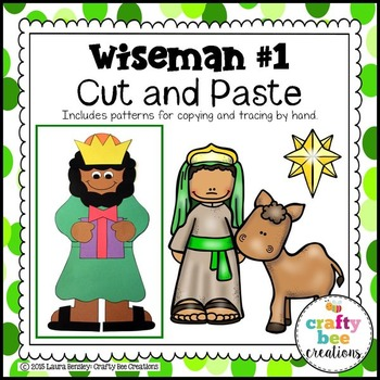 Wiseman #1 Cut and Paste