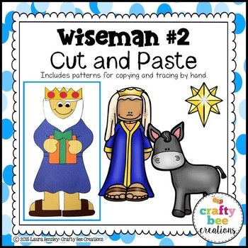 Wiseman #2 Cut and Paste