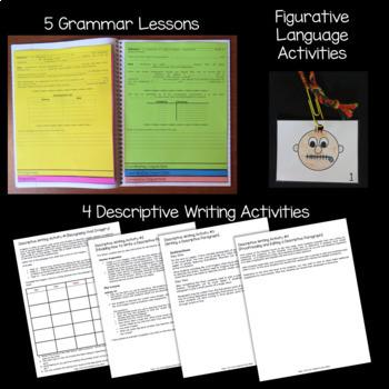 Wish Novel Study: vocabulary, comprehension, writing, skills