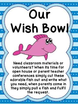 Parent Teacher Conferences Wish Bowl