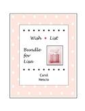 Wish * List Bundle for Lisa