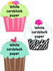 Wish List Cupcakes for Classroom Donations