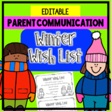 Wish List - Parent Note - Parent Communication