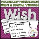 Wish Vocabulary Presentation