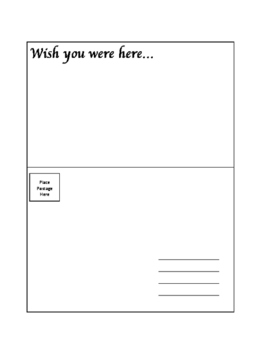 Wish You Were Here... Dystopia Assessment