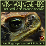 Invasive Species Writing Activity: Postcard to an Invasive