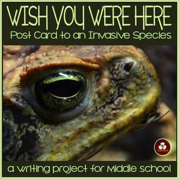 Invasive Species Writing Activity: Postcard to an Invasive