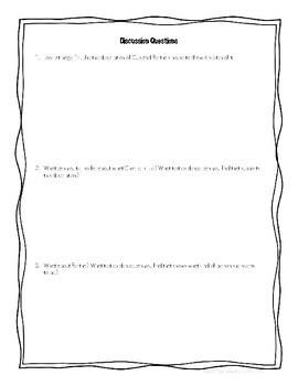 Wish by Barbara O'Connor Novel Study/Literature Circle Guide