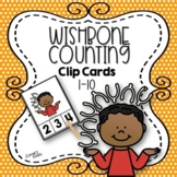 Wishbone Counting Clip Cards 1-10