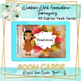 Wishbone Word Associations - Thanksgiving BOOM Cards – Speech Therapy Distance L
