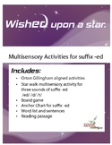 Wished Upon A Star!   Orton Gillingham multisensory activi