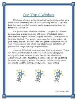 Recount Writing - Top Three Wishes