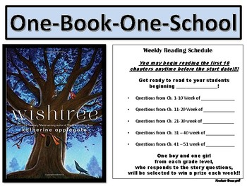 Wishtree Comprehension Questions (Chapters)