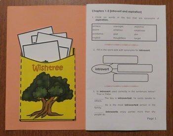 Wishtree [Katherine Applegate]  Abridged Printable Book Unit