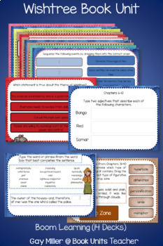 Wishtree Novel Study: Digital + Printable Book Unit  [Katherine Applegate]