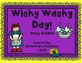 Wishy Washy Day! Story outline